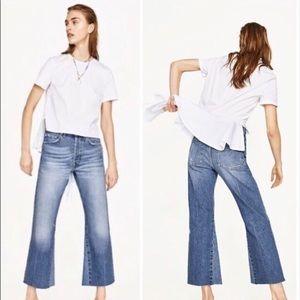 zara vintage bootcut premium denim jeans